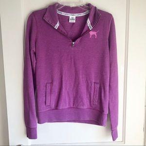 Victoria's Secret PINK Purple Pullover Sweatshirt